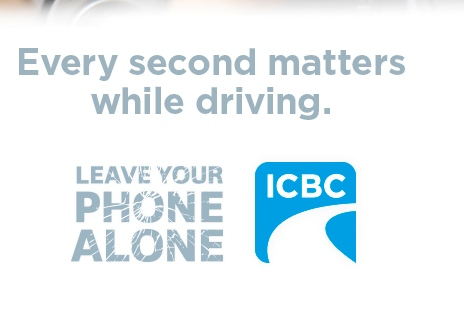 ICBC Distracted Driving banner verticle (1)